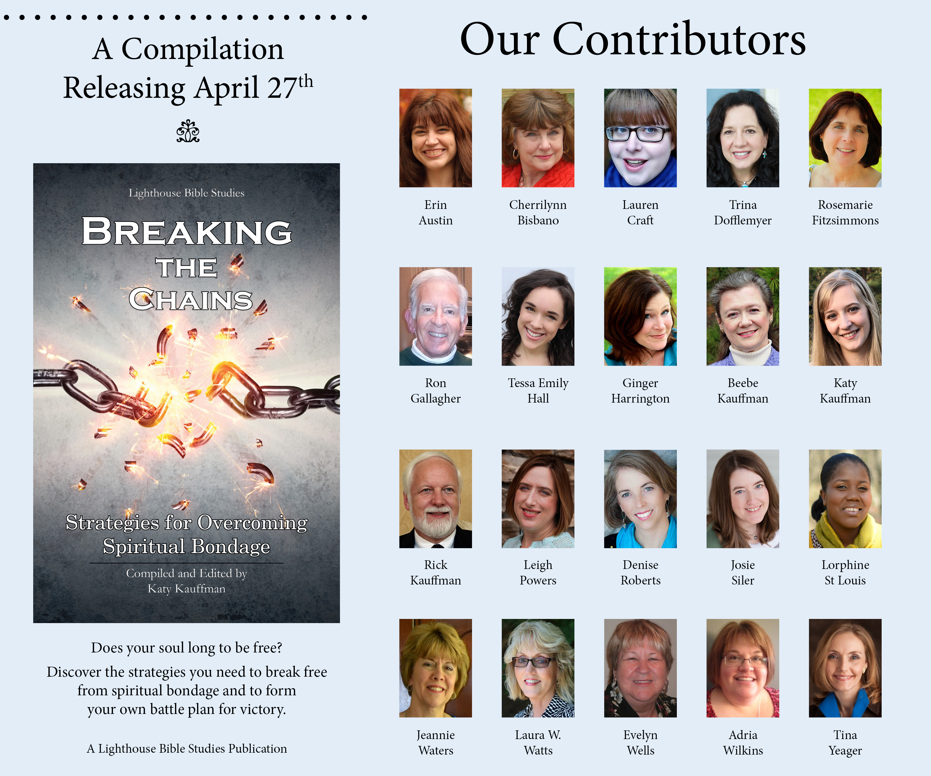Book Release-Breaking The Chains-Strategies for Overcoming Spiritual