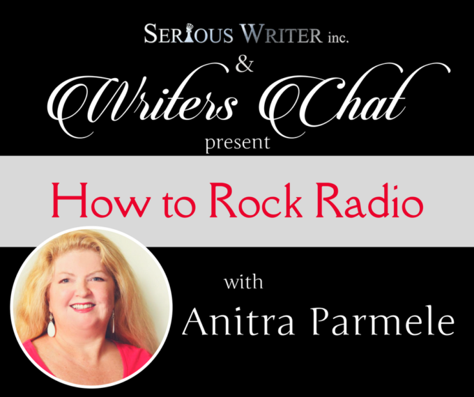 "writers chat with Anitra Parmele ""How to Rock Radio"""