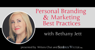 writers chat with Bethany Jett on personal branding and marketing