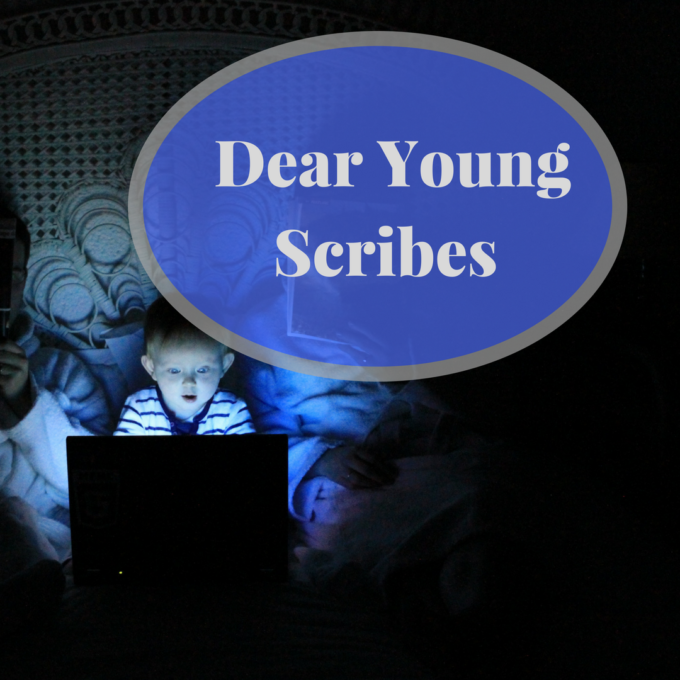 dear young scribes archives almost an author. Black Bedroom Furniture Sets. Home Design Ideas