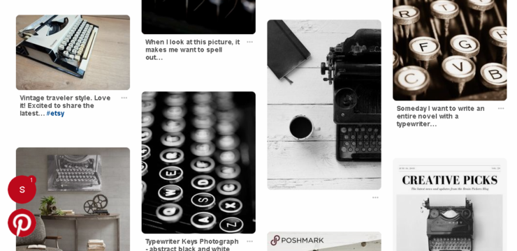 Pinterest for writers seriouswriter.com
